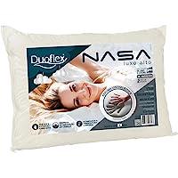 Travesseiro Nasa Alto Luxo, Duoflex, 85% algodão, 15% poliéster, Bege, para fronha 50cmx70cm