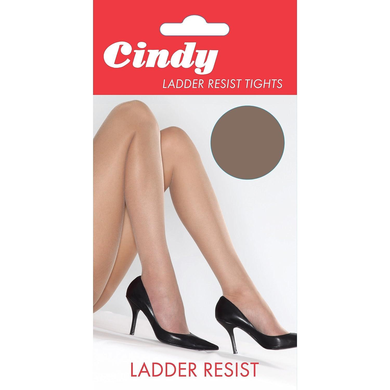Cindy Womens/Ladies Ladder Resist Tights (1 Pair)