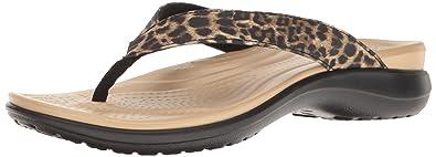 Crocs Women's Capri V Graphic W Flip Flop <span at amazon