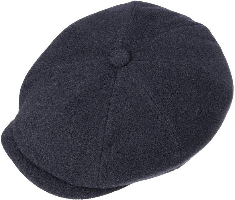 detailed look popular brand beauty Stetson Hatteras Earflap Flat Cap Men Blue 7 at Amazon Men's ...