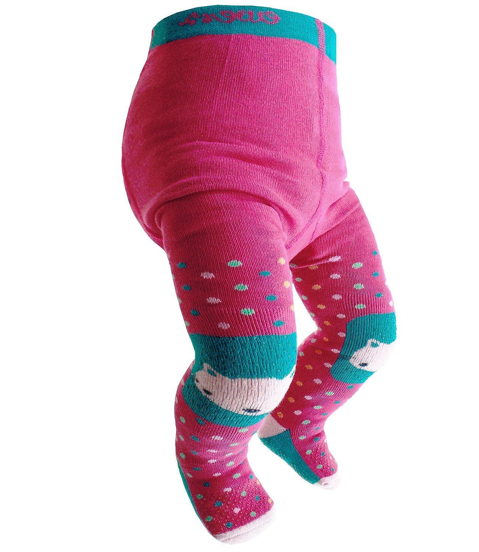 2-er Set Baby Strumpfhose Krabbelstrumpfhose ABS Mädchen Gr.68-74 NEU