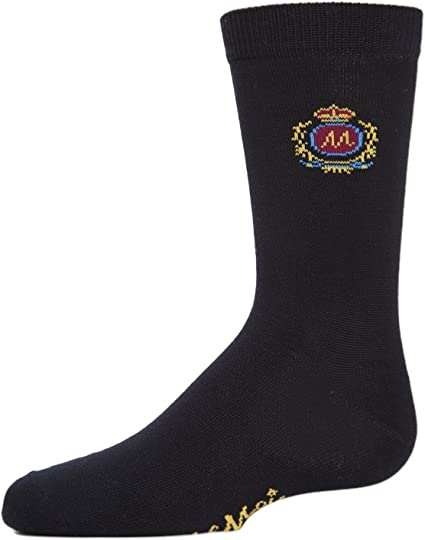Memoi Boys Cotton Dress Socks 3-Pack
