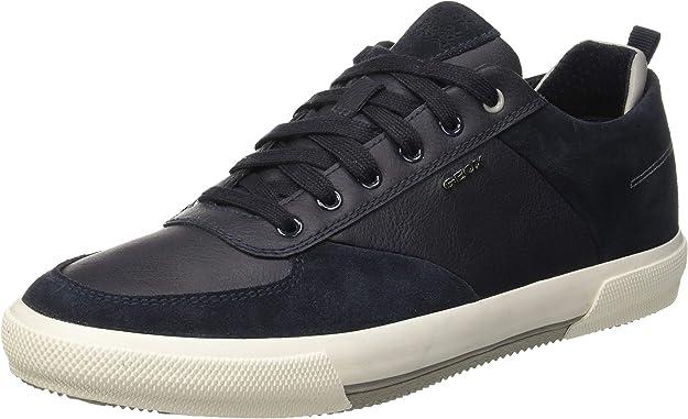 Geox U Kaven A Sneaker Herren Marineblau Navyblue