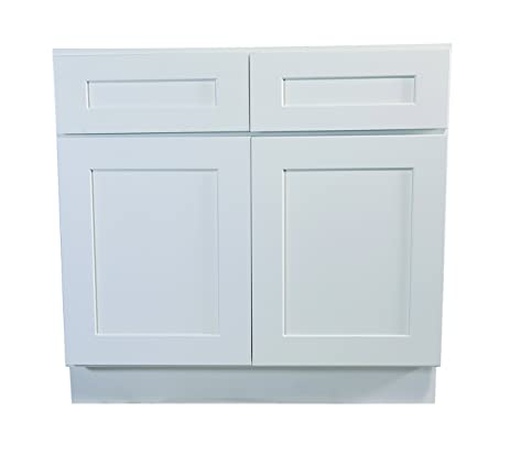 design house brookings 48inch base cabinet white shaker
