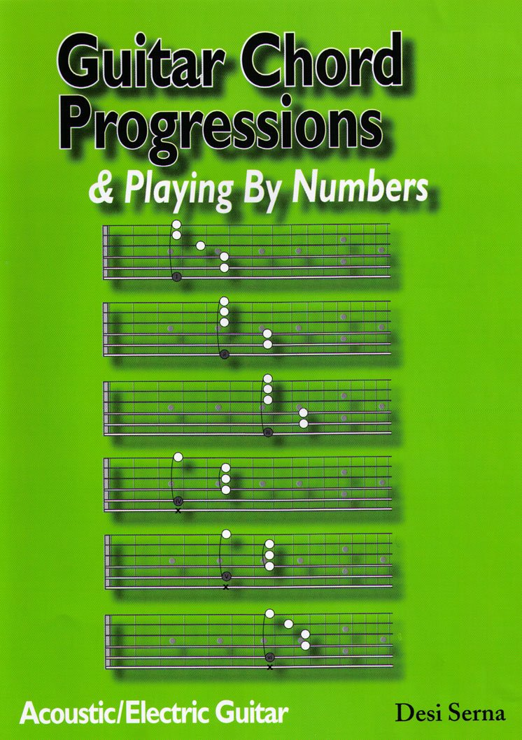 Amazon Guitar Chord Progressions Playing By Numbers By Desi