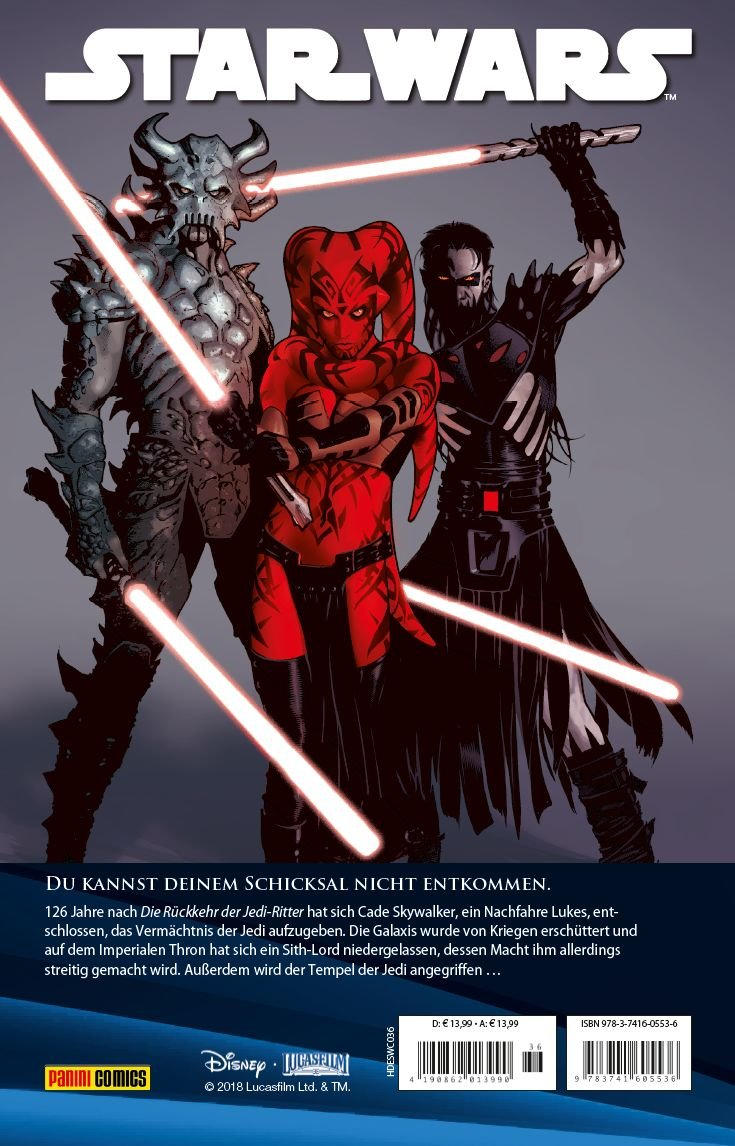 Star Wars Comic Kollektion Bd 36 Legacy Skywalkers Erbe Amazon