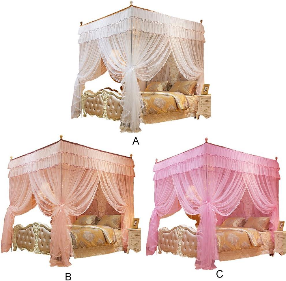 Moustiquaire ciel de lit Fly Moustiquaire Rideaux Lit Tente de jeu 1.5/x 2/m