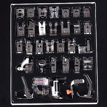 32 Piezas Prensatelas Accesorios Baban sewing machine ...