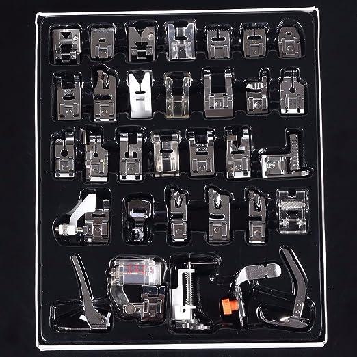 99 opinioni per TAPCET 32PCS Kit Accessori Cucito al piedino patchwork dei piedini della