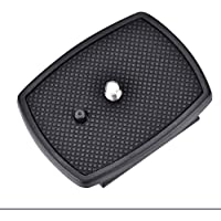 Serounder Quick Release Plate Clamp Tripod Head Adapter for Velbon CX-444, CX-888, CX-460, CX-460mini, CX-470, CX-570…