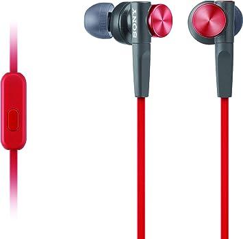 Amazon.com: Sony Extra Bass, auriculares Rojo: Home Audio ...