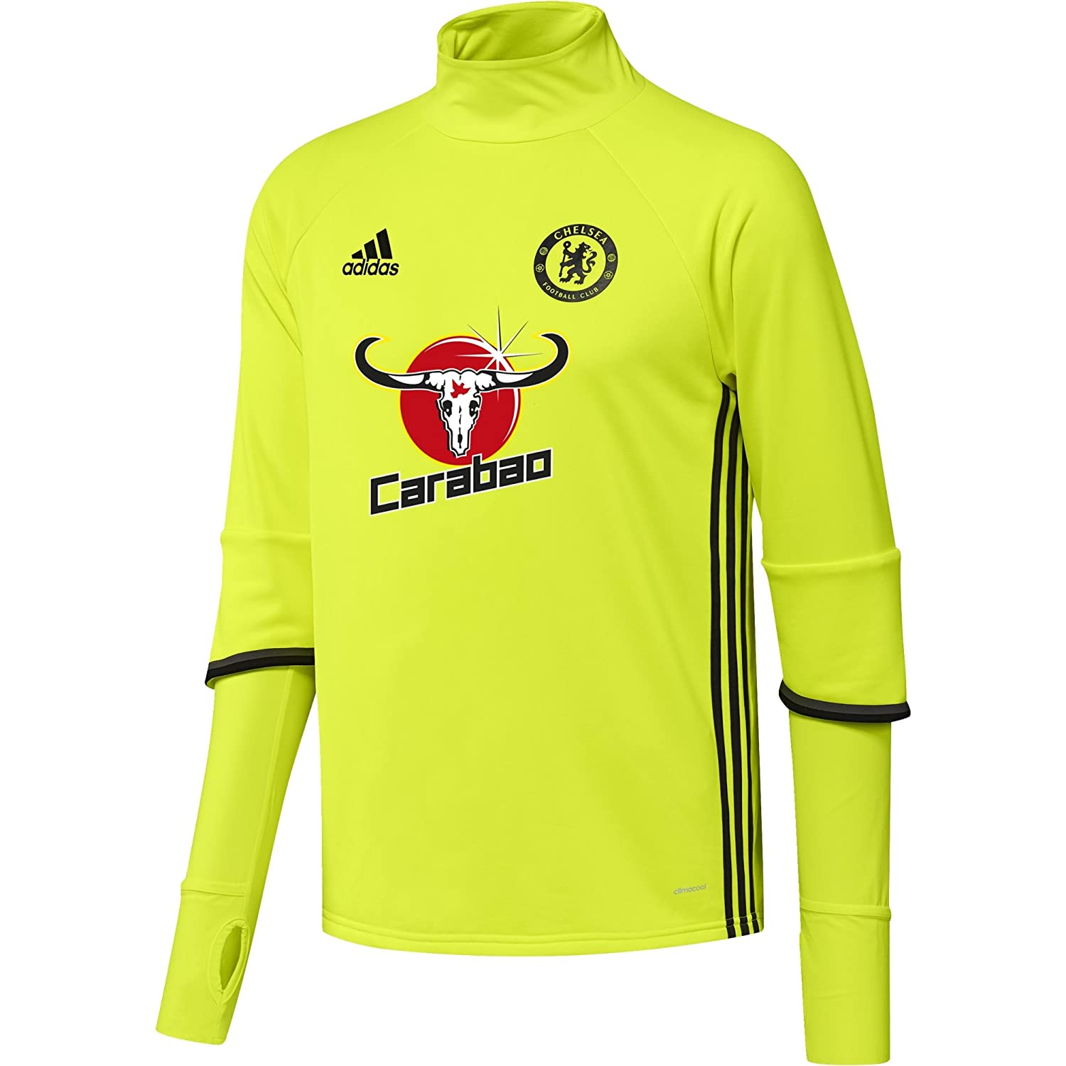 2016-2017 Chelsea Adidas Training Top (Yellow) B01HUVJ29G XL 44-46