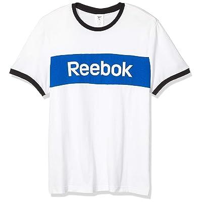 Reebok Men's Training Essentials Blocked Tee: Clothing