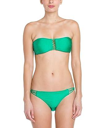 Jade green bikini