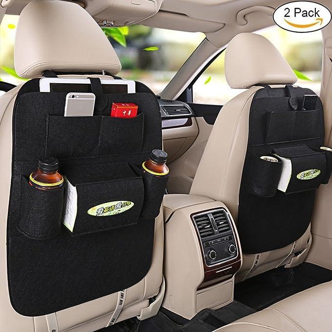3 opinioni per Fristee 2pezzi Sedile posteriore organizer auto per bambini con supporto per