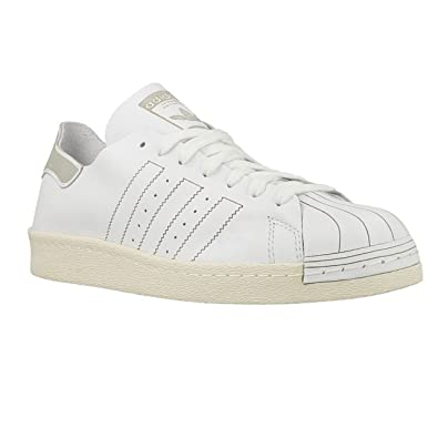 adidas Originals Men's Superstar 80S Decon Casual Fashion Sneaker, Decon White 9 D(M) US