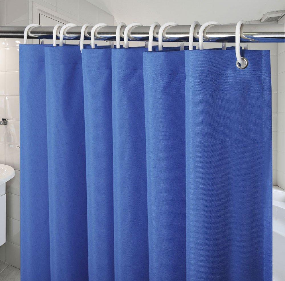 Amazon.com: 54-Inch x72-Inch Shower Curtains for Bathroom, Navy Blue ...