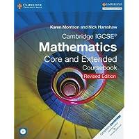 Cambridge IGCSE Mathematics core and extended coursebook. Per le Scuole superiori. Con CD-ROM. Con espansione online