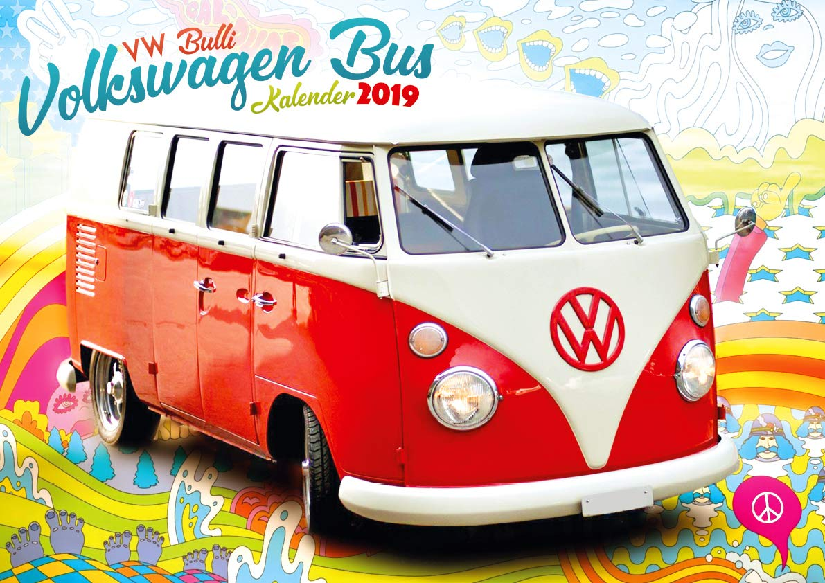Volkswagen Bus Vw Bulli 2019 9781617016912 Amazon Com Books