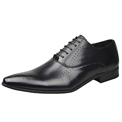 f4c6ae8d2745 Men s Faux Patent Leather Smart Loafer Dress Shoes Party Wedding Occasion  Shoes UK Size 6 7