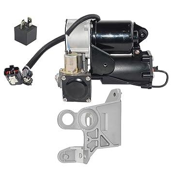Bomba de compresor de suspensión de aire + soporte de montaje LR023964, RQU500064: Amazon.es: Coche y moto
