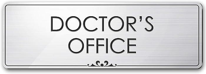 Doctor's Office - Laser Engraved Sign - 3