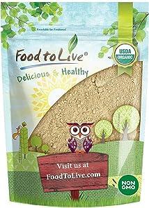 Organic Red Maca Powder by Food to Live (Raw Ground Maca Root, Non-GMO, Kosher, Fine Flour, Bulk) — 2 Pounds