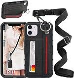 UKON Phone Lanyard Case Phone Necklace Case Adjustable Crossbody Lanyard Case
