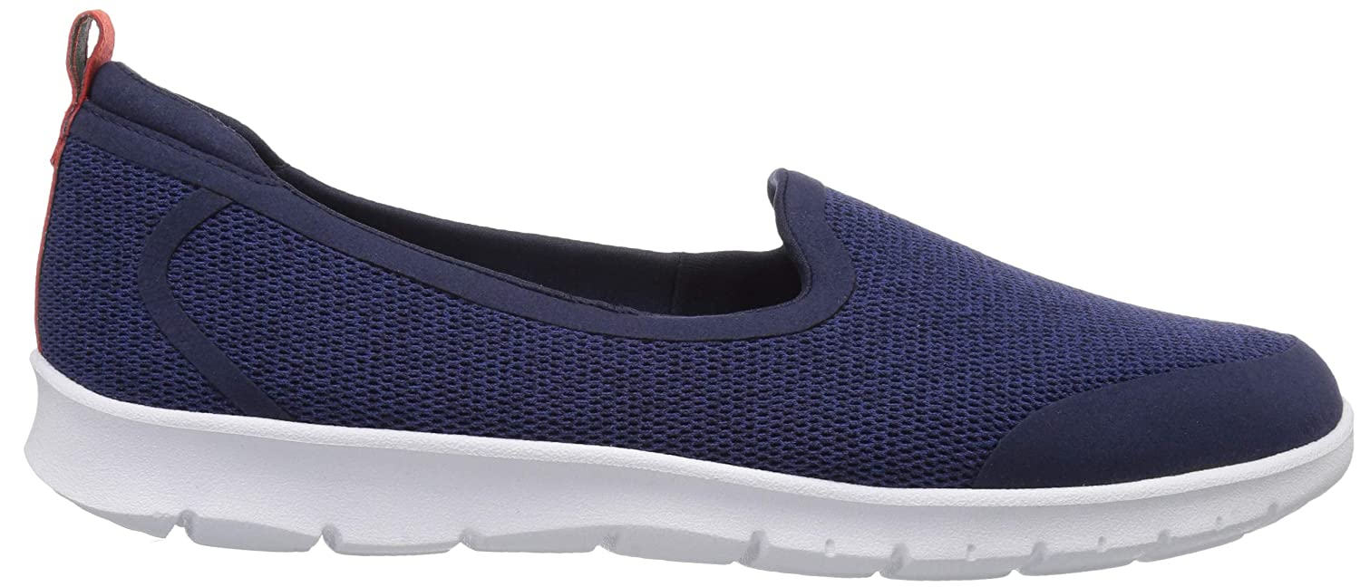 CLARKS Womens Step Allena Lo Loafer Flat