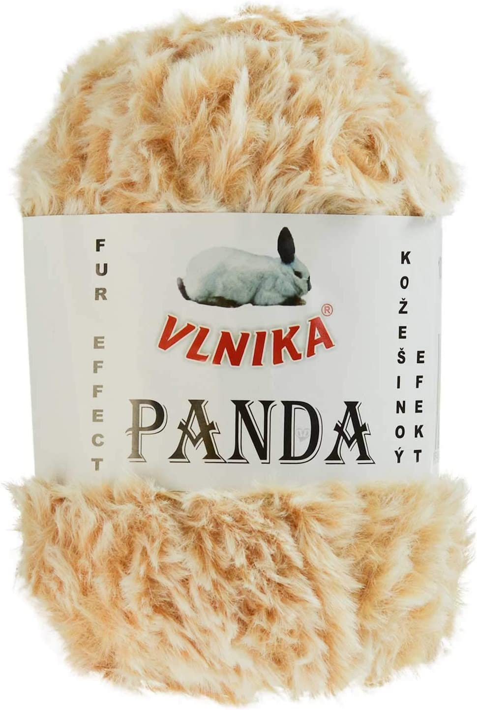 maDDma /® 100g Strickgarn Panda Strick-Wolle Webpelz-Garn Kuschelwolle Pl/üschwolle Farbe:151 schwarz