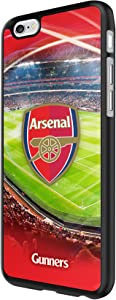 Arsenal FC - 3D Case for Apple iPhone 6/6S I Ultra-Slim Bumper Cover I Anti-Scratch Smartphone Protection