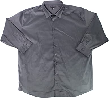 SportsX Mens Tops Comfort Business Office Slim Fit Button-Down-Shirts