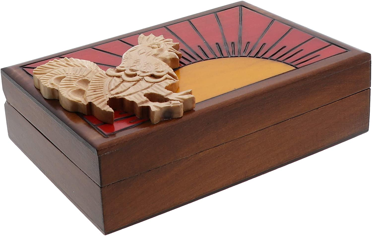 wooden carved big Candy//cookie box with stand Unique Artisan rosewood box