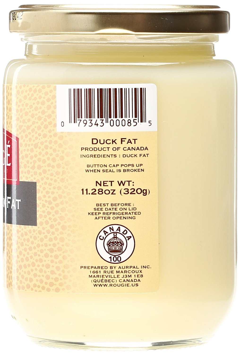 Rougie Rendered Duck Fat 320g 11.2 Ounce (4 PACK) by Rougie (Image #3)