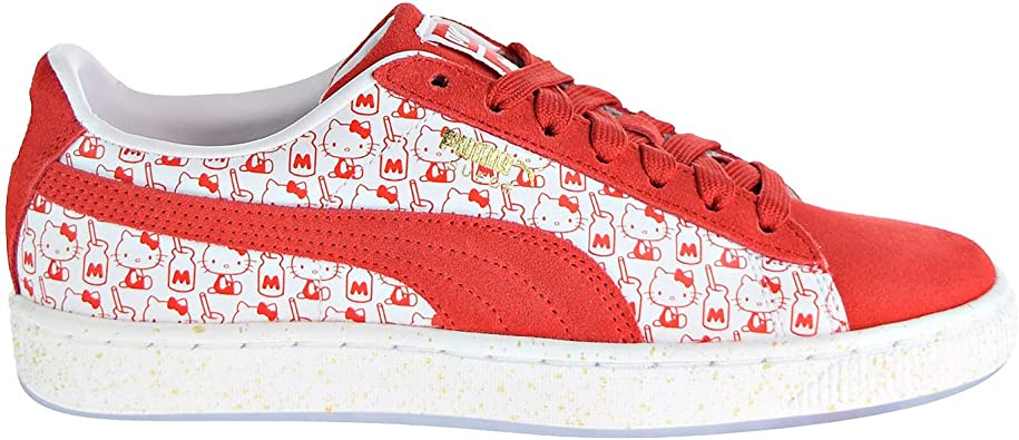 Hello Kitty Shoes Amazon.com | PUMA Womens Suede Classic x Hello Kitty Casual Sneakers, |  Tennis & Racquet Sports