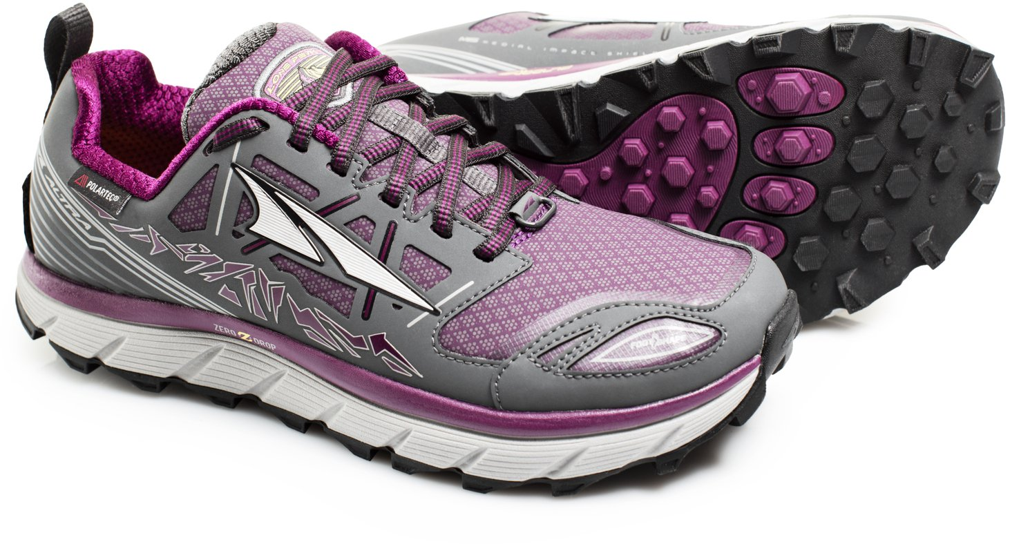 Altra Lone Peak 3.0 Low Neo 8 Shoe - Women's B01B72M1ME 8 Neo B(M) US|Gray/Purple 7e563c