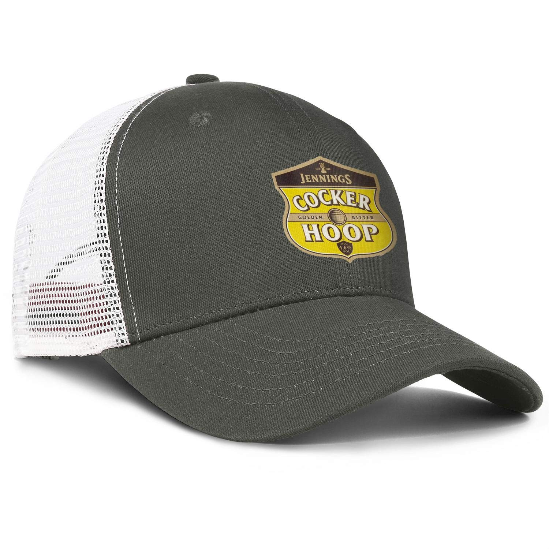 QWQD Jennings Cocker Hoop Mens Womens Mesh Baseball Cap Adjustable Snapback Summer Hat