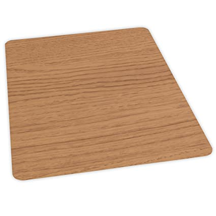Amazon Es Robbins Wood Veneer Style Rectangle Chair Mat For
