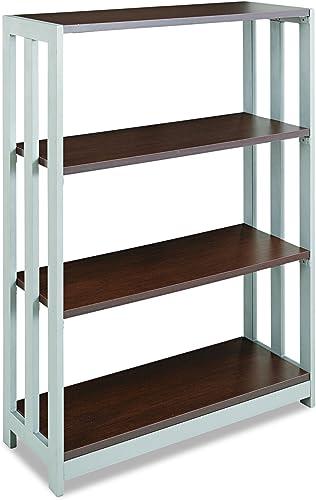 Best modern bookcase: Linea Italia TR735MOC Trento Line Bookcase