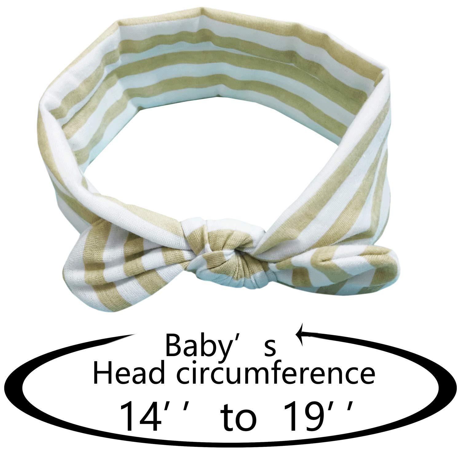 Baby Nylon headbands Turban Knotted Girls Hairband Super Soft and Stretchy Hair Wrap for Newborn Toddle Childrens Dayreamily