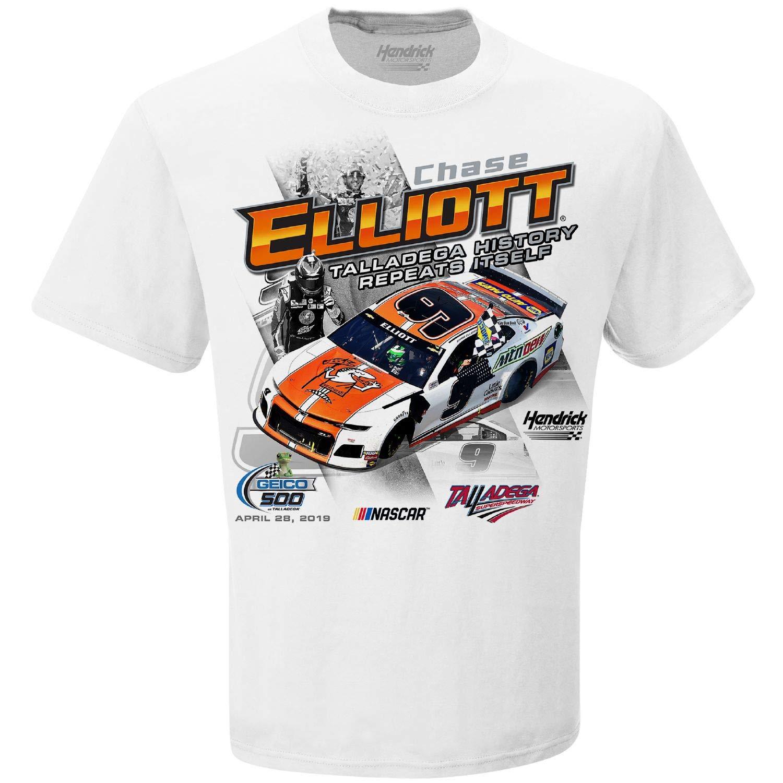 Chase Elliott T Shirt >> Checkered Flag Chase Elliott 2019 Talladega Race Win Nascar T Shirt
