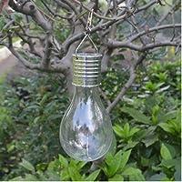 Spritumn Outdoor Decorations Solar Fairy Garden LED String Light Bulbs for Camp Garden Bedroom Party Wedding Decorations Warm Waterproof