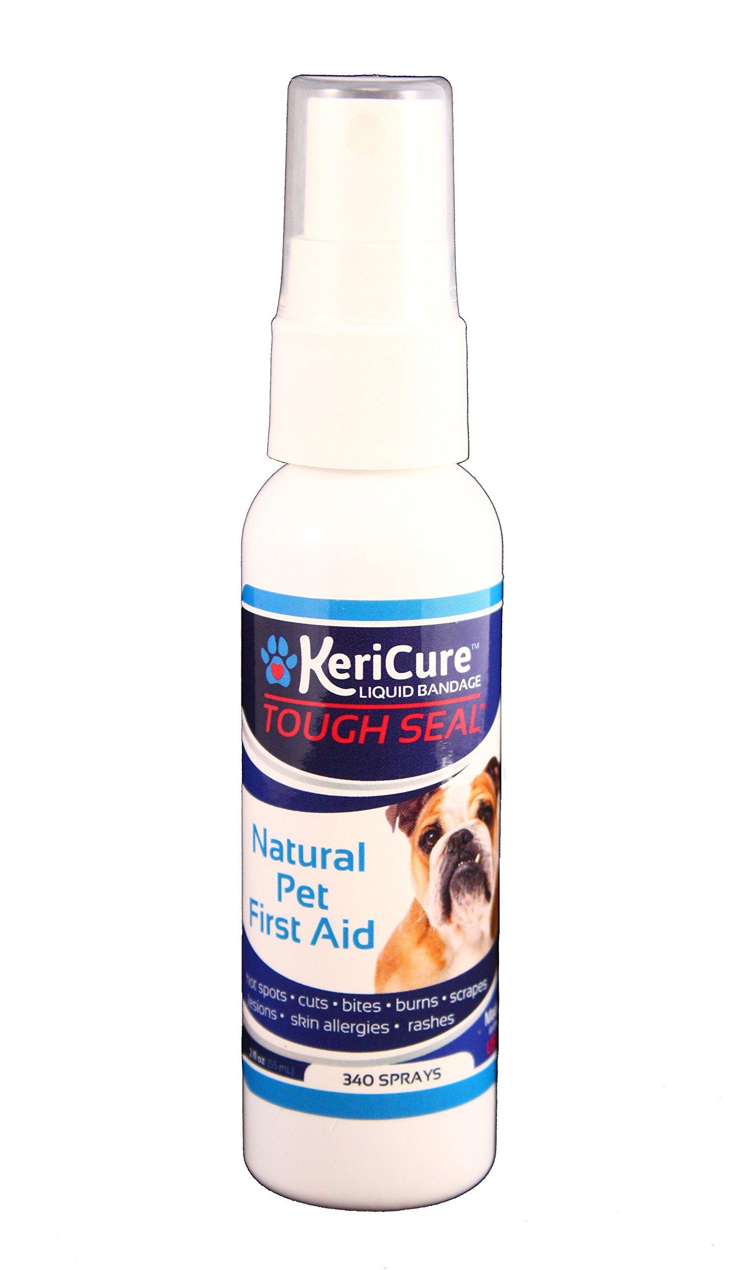 KeriCure 2 oz Tough Seal Pet Liquid Bandage by KeriCure