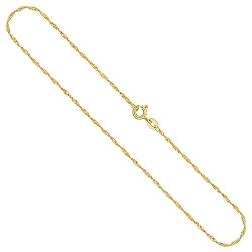 Gold Kette 585 Gelbgold 14Kt Gold Venezianer Kette 42cm