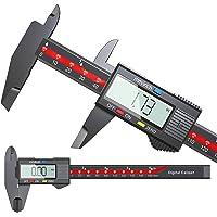 Digital Caliper, APMIEK Electronic Digital Caliper, High Accurate 6'' Electronic Vernier Calipers Micrometer Measuring…