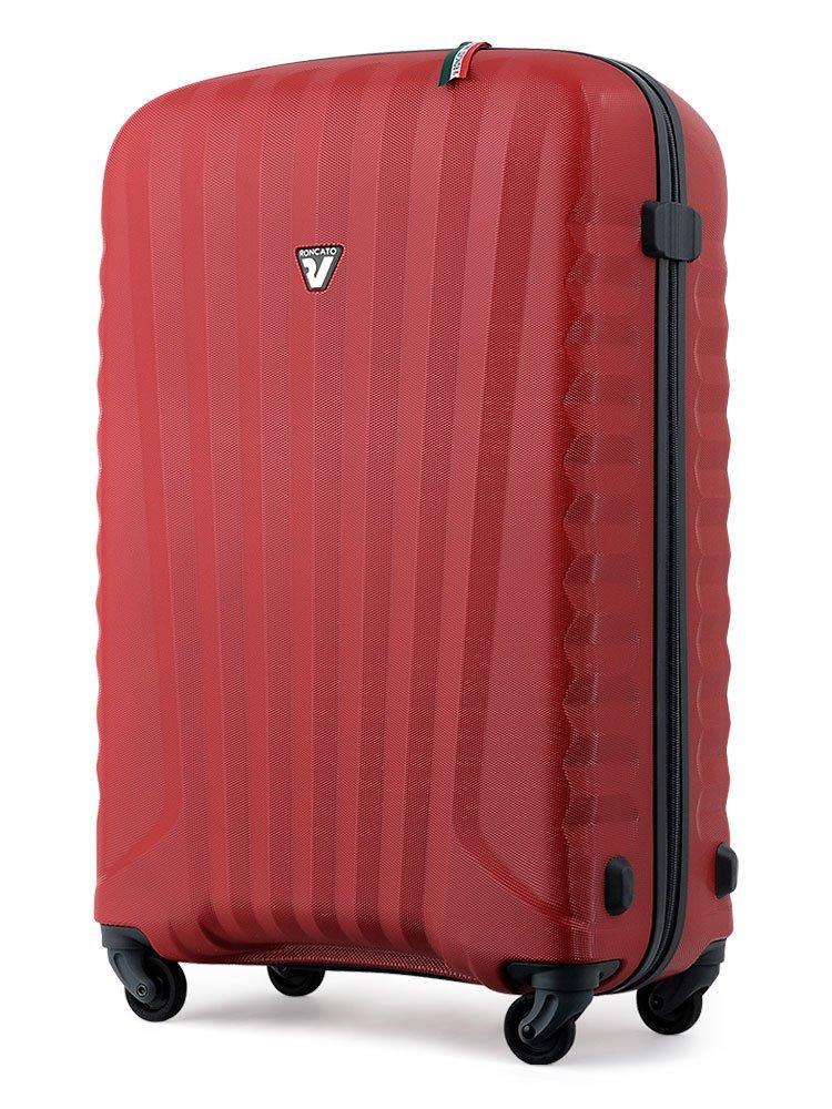 [ロンカート] RONCATO イタリア製 超軽量スーツケース ZIP ZSL B00MTEPFUU レッド レッド