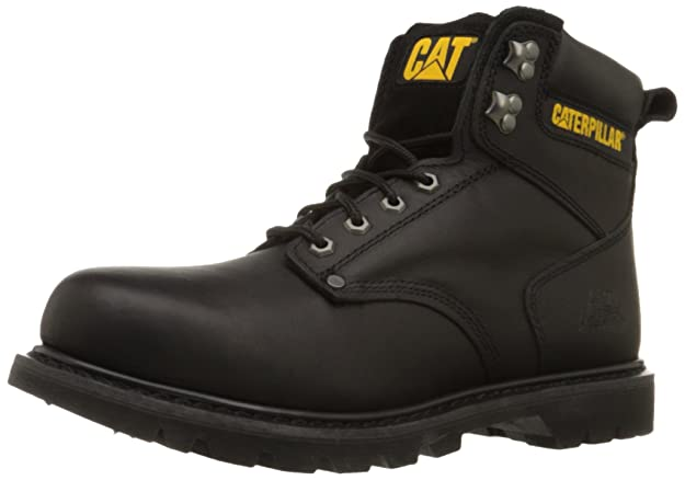 Caterpillar Men's Second Shift Soft Toe Work Boot Black Friday Deal 2020