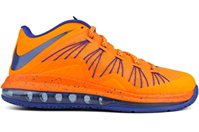 huge selection of b9cd1 ad85a Nike Men s Air Max Lebron X Low Basketball Shoes (8, Bright Citrus Hyper