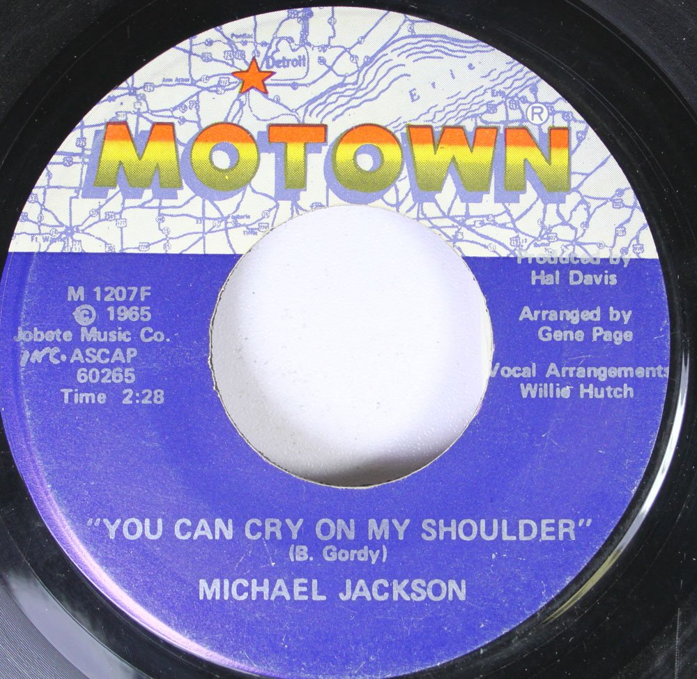 JACKSON New Orleans Mall Michael Ben 45rpm record Fort Worth Mall