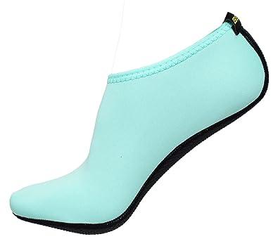 BBA Water Skin Shoes Aqua Socks for Beach Swim Surf Yoga Exercise (M (UK38